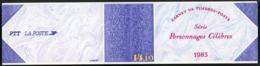 BC 2360 A NEUF TB / 1985 Personnages Célèbres. Cote 25 € Et Valeur Faciale 12,30 F Soit 1.87€ - Booklets