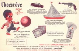 Vloeipapier Buvard - Tablets Chocoreve - Mondicourt - Chocolat