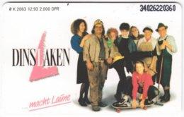 GERMANY K-Serie A-332 - 2063 12.93 - MINT - Deutschland