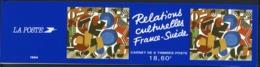 BC 2872 NEUF TB / 1994 Relations Culturelles France Suède / Valeur Timbres : 18.6F Soit 2.83€ - Carnets