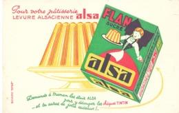 Vloeipapier Buvard - Levure Alsacienne Alsa - - Alimentaire