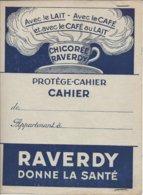 Protège Cahier Chicorée Raverdy Saint Saulve Verso Tables De Calcul. - Autres