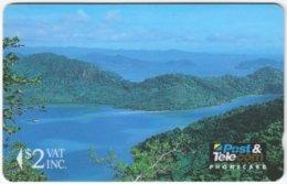 FIJI A-081 Magnetic Post&Telecom - Landscape, Coast - 01FJB - Used - Fiji