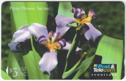 FIJI A-107 Magnetic Post&Telecom - Plant, Flower - 12FJB - Used - Fiji