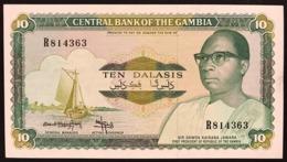 GAMBIA 10 DALASIS Pick#10b  Sup/fds LOTTO.2843 - Gambia
