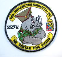 Italy Morale Military Patch Military School Scuola Militare Nunziatella #949 - Scudetti In Tela