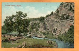 Mold UK 1908 Postcard - Flintshire