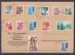 Baden - 1947 - Michel Nr. 1/13 Satzbrief - French Zone