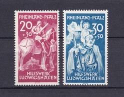 Rheinland-Pfalz - 1948 - Michel Nr. 30/31 - French Zone
