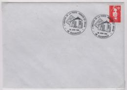 BLEURVILLE (Vosges),30 Juin 1996, Oblitération Temporaire, Abbaye St Maur - Marcophilie (Lettres)
