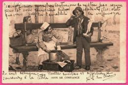 Fantaisie - Abus De Confiance - Cuisinier Et Marchand De Statue - Animée - 1905 - Fantaisies