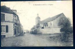 Cpa Du 22  Caulnes L' église    ------------  Canton Broons Dinan     LZ120 - Autres Communes