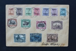 TB: Enveloppe 14/07/1920 Avec Timbres OC Surchargés Allemagne - Duitschland En Express  Vers Blankenburg - PMB 1 - [OC38/54] Occ. Belg En All.