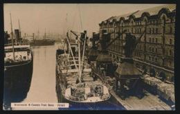 WAREHOUSE & CRANES  TYNE DOCK  PHOTO CARD - Newcastle-upon-Tyne