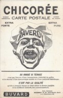Buvard Chicorée Carte Postale Raverdy Saint Saulve. - Autres