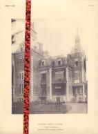 Foto  Photo - Bijlage Magazine Vers L'Art - Chateau à Tailfer  +- 1910 - Prenten & Gravure