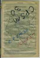 ANNUAIRE - 37 - Département Indre Et Loire - Année 1913 - édition Didot-Bottin - 46 Pages - Telephone Directories