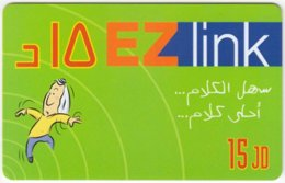 JORDAN A-835 Prepaid EZlink - Cartoon - Used - Jordanie