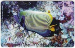 JORDAN A-868 Chip Alo - Animal, Sea Life, Fish - Used - Jordanie