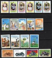 Ghana 1985 - Selection Of HM Issues From Year Cat £24.15 For MNH - MUST See Scans/full Description Below - Ghana (1957-...)
