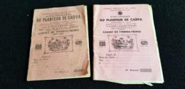 Carnet Fidélité De Timbres Commerce AU PLANTEUR DE CAIFFA Rue Joanes Boulitte PARIS 75 Publicité Savon De Marseille .... - Publicités