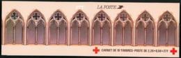 """BC 2034 NEUF TB / Croix Rouge 1985 """"Retable D'Issenheim, Colmar"""" / Valeur Timbres : 22F Soit 3.35€. (Carnet Plié) - Croix Rouge"""