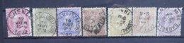 BELGIE  1884    Nr. 46 - 52     Gestempeld    CW  68,50 - 1884-1891 Léopold II