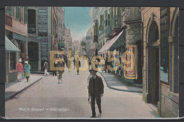 Gibraltar, Main Street, Unused - Gibilterra