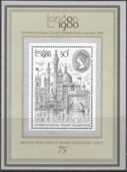 GROSSBRITANNIEN Block 3, Postfrisch **, Internationale Briefmarkenausstellung LONDON 1980 - Blocks & Kleinbögen