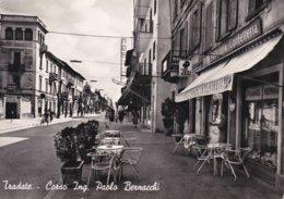 TRADATE - VARESE - CORSO ING. PAOLO BERNACCHI - PASTICCERIA CONFETTERIA - CAFFE' JESI - ALEMAGNA - 1958 - Varese