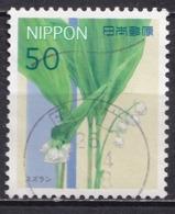 Japan 2012 - Seasonal Flowers Series 3 (50 Yen) - Usados