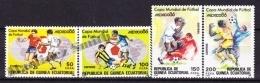 Equatorial Guinea -  Guinea Ecuatorial - Guinée Équatoriale 1986 Edifil 81 - 84, FIFA World Cup Mexico '86 - MNH - Guinea Ecuatorial