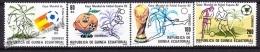 Equatorial Guinea - Guinée Équatoriale 1982 Edifil 35- 38, FIFA World Cup Spain '82 - MNH - Guinea Ecuatorial