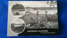 Rappbode-Talsperre Bei Wendelfurt Harz Germany - Germania