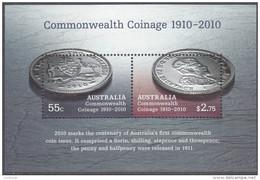 AUSTRALIA, 2010 COINAGE MINISHEET MNH - Ongebruikt