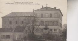 CONFLANS   SAINTE HONORINE     PENSIONNAT DE JEUNES FILLES - Conflans Saint Honorine