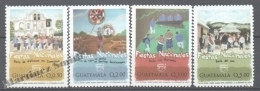 Guatemala 2008 Yvert 599-602, América UPAEP, National Celebrations - MNH - Guatemala