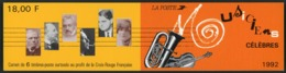 BC 2753 A NEUF TB / 1992 Musiciens Célèbres / Valeur Timbres : 15f Soit 2.28€ - Booklets