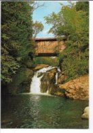 West Hill Covered Bridge - Montgommery Vermont. Used 1980.  B-3692 - Bridges