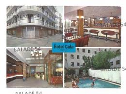 CPM - BARCELONA (Barcelone) HOTEL CALA Catella (entrée, Bar, Piscine...) - Espagne
