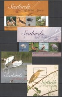 Y405 2014 SIERRA LEONE BIRDS SEABIRDS OF WEST AFRICA #5588-97 MICHEL 39 EURO 2KB+2BL MNH - Birds