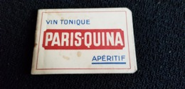 Carnet Bloc Feuilles Vierges Apéritif PARIS 75 VICHY 03 QUINA Vin Tonique - Publicités