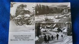 Höhenluftkurort Und Wintersportplatz Schierke Kr. Wernigerode Germany - Schierke