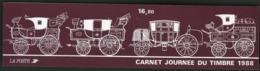 """BC 2526 A NEUF TB / 1988 Journée Du Timbre """"Voiture Montée"""" / Valeur Timbres : 13.2F Soit 2€ - Booklets"""