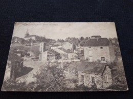 Cpa Carte Postale Ancienne Monceau Belgique Route De Bièvre Rare - Belgique