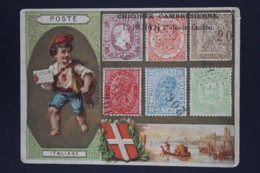 Italy Collection Of Colourfull Advertising Cards Circa 1908 - 1900-44 Vittorio Emanuele III