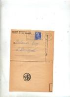 Lettre Flamme Limoux Vin Mousseux Sur Gandon Sncf - Marcophilie (Lettres)