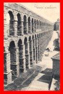 ESPAÑA  SEGOVIA  FOTO POSTAL  ( ACUEDUCTO ) AÑO 1929 - Segovia