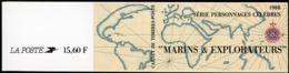 """BC 2523 NEUF TB / PERSONNAGES Célèbres 1988, """"Marins Et Explorateurs"""" / Valeur Timbres : 12F Soit 1.83€ - Booklets"""