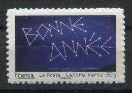 RC 13778 FRANCE N° 764A BONNE ANNÉE SUR SUPPORT BLANC AUTOADHÉSIFS TB NEUF ** - Frankreich